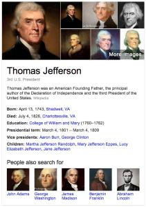 Thomas Jefferson Knowledge Graph