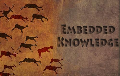 Embedded Knowledge